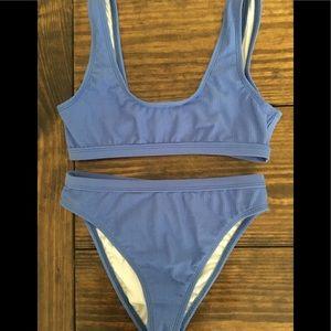 Fashion Nova Blue Bikini
